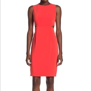 Trina Turk Helena cut out sheath dress